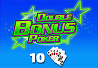 Double Bonus Poker 10 Hand